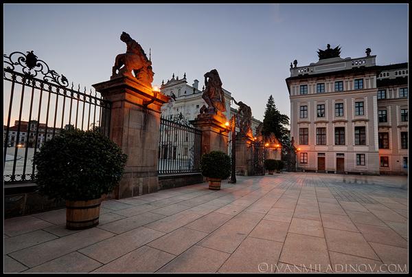 Двореца в Прага