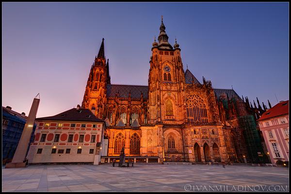 Кадетралата в двореца - Прага
