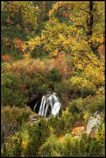 Водопад по Урдина река