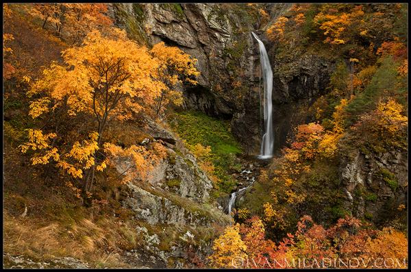 водопад горица