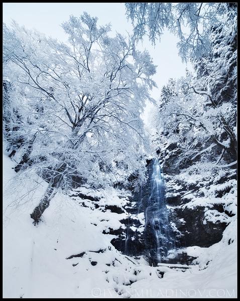Карловско пръскало през зимата