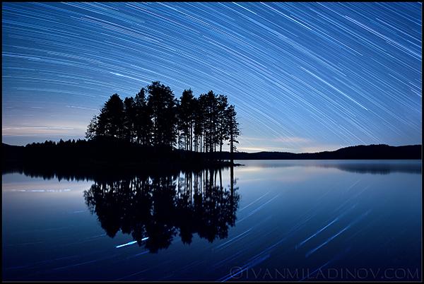 нощ над родопите