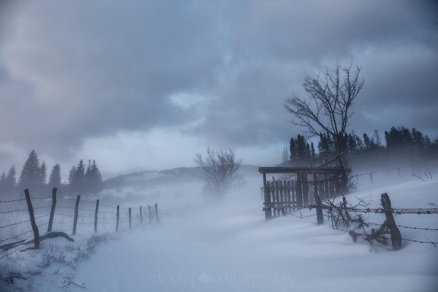 Зима над Копривщица
